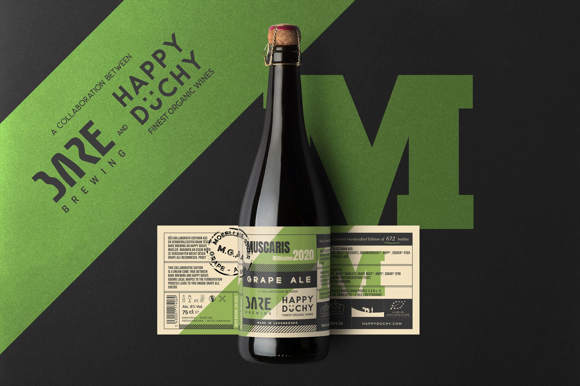 Bare Brewery Grape Ale – Luxembourg