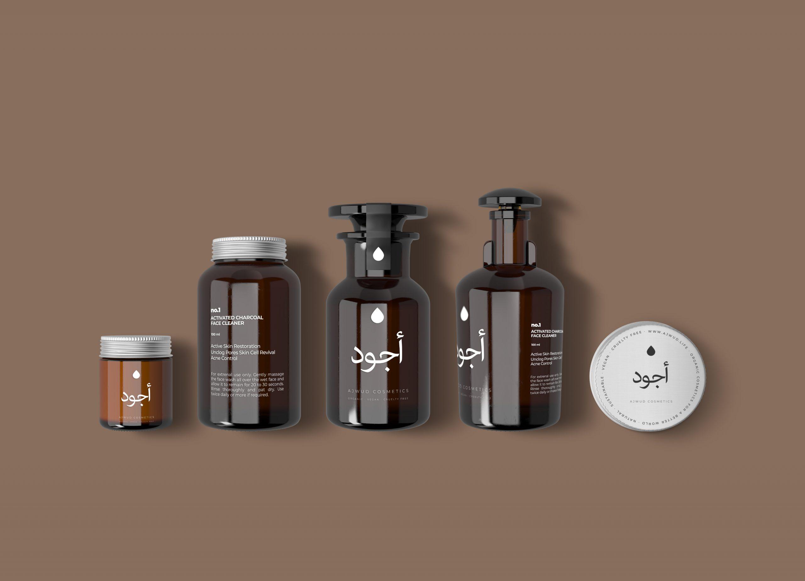 Ajwud Cosmetics Rebranding // Oman